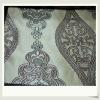 100% Polyester Yarn Dyed Jacquard Curtain Fabric Metallic