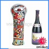 Neoprene wine bottle cooler covers