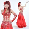 Red costume belly dancing .belly dancing costumes,belly dance wear