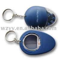 Newness !!! Customize Plastic Bottle Opener with ring