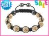 shamballa 9 pcs beaded bracelets classic design tresor paris shamballa bracelet unisex nice style