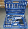 "108PCS (1/4""&1/2"") 40CR socket set hand tool kits"