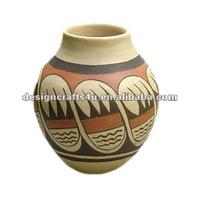 decorative clay terracotta garden antique india pots