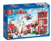Children toy bricks set