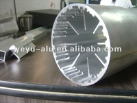 custom made large diameter aluminum turning pipe/ shaped tube 6063/6061/6082