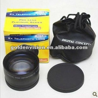2.2X 58mm Threaded Lens telephoto lens wide angle lens fish eye