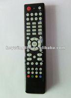 Universal wireless remote control for TV