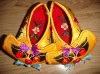 Pure handmade -Embroidery tiger shoes