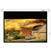 2012 the newest style 150 inch electric projection screen