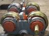 Wheel sets machining