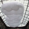 hanging inflatable cloud floating in the sky