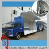 wing opening truck body