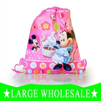 Drawstring Backbags School bags MICKEY cartoon bags