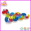 2012 Most Popular ! kids educational wooden jigsaw puzzles