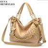 Korea style fashion leopard women PU shoulderbag,elegant chain lady tote&messenger bag