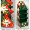 Christmas lamp / lights Folding 4 Tier Cardboard Floor Display