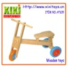 Hot Sale Promotional Kids Bike Toys Wooden Ride On Car