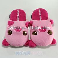 Pink Pig Indoor Slipper - Plush Shoes