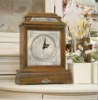 Wooden desk clock Accent Table Furniture