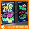 neon LED night glow board with RGB for advertising