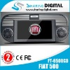 fiat 500 car dvd system with gps ipod input tv