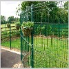 PVC coated or Galvanized Double Wire Fence