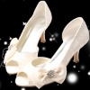 White Wedding Shoes (R-042#)
