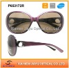 New fashion design plastic women sunglasses