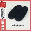 2012 indoor led lighting slippers comfortable indoor slippers(KN-SL-78)
