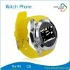 Popular silicone strap watch phone