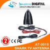 Sharing Digital Shark Fins Car Analog TV Antenna with Amplifier For Tuner Receiver