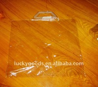 2011 new style clear clothes bag