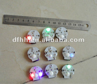 Waterproof LED clothes light for T-shirt, hats, bags