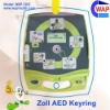 NEW Arrival custom-made AED promotion keychain light zoll defibrillator aed