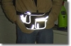 Safety Reflective waist bag