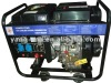 200A 5kw air cooled 4 stroke engine power electric diesel welding generator