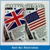 Flag Case For ipod touch 4 hard plastic UK USA Cover for touch 4