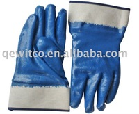 Heavy Blue Nitrile Fully Coated Glove