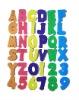 2012 EVA Alphabet Letters & Numbers