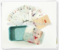Small size poker playing cards