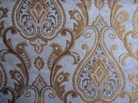 Classical Polyester Jacquard Home Textiles Curtain