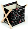 novel canvas painting, gift products, Magazine Rack/Basket