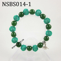Wholesale Murano Glass Beaded Bracelet, Elegant Beaded Bracelets