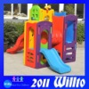 Plastic Play House With Slide ZK019-1