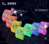 Colorful Transparent Plastic Watch Ladies