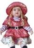 Lovely Lifelike Plastic Doll