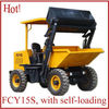 mini dump truck with self-loading/hydraulic