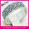 Ring backs jewelry oversized flat steel rings