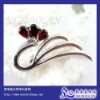 Silver Gemstone Brooch Jewelry(x040607ags)