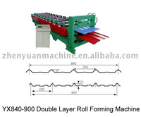 double sheet roll forming machine,dual roll forming machine,double layer forming machine